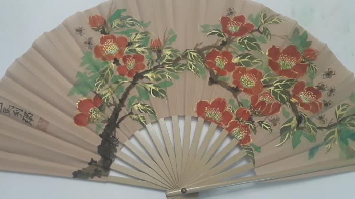 Camellia fan