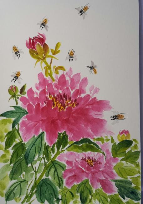 Beauties and the bees