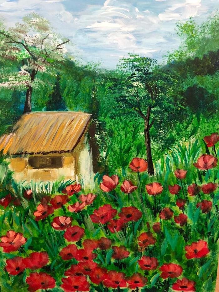 12-Italian Poppy Farm